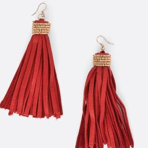 Noonday Pirouette Earrings, Red